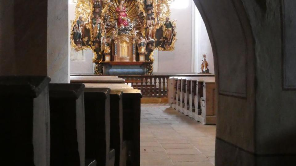 Interiér po restaurování