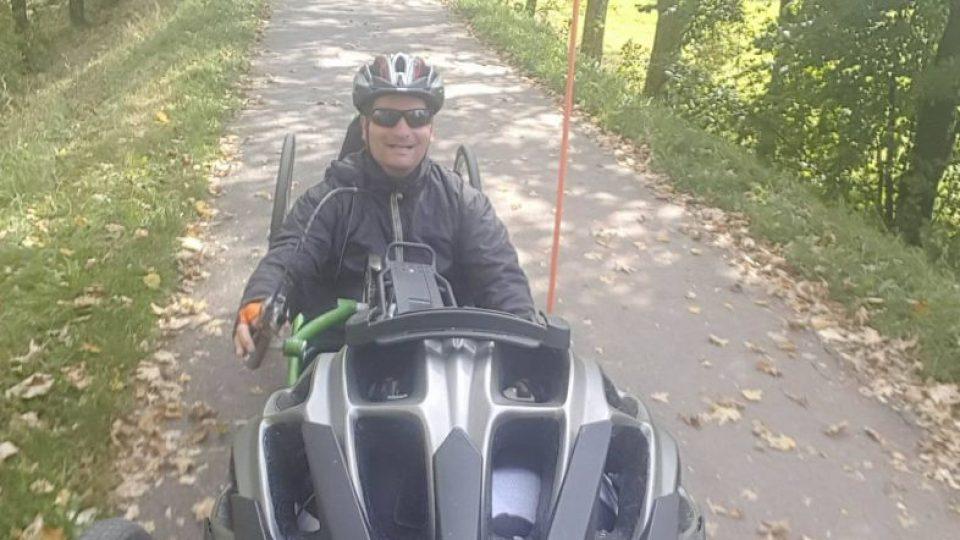 Na cyklostezce v Hradci Králové s Hynkem Littmannem