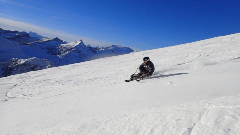 Trénink na ledovci Moelltal