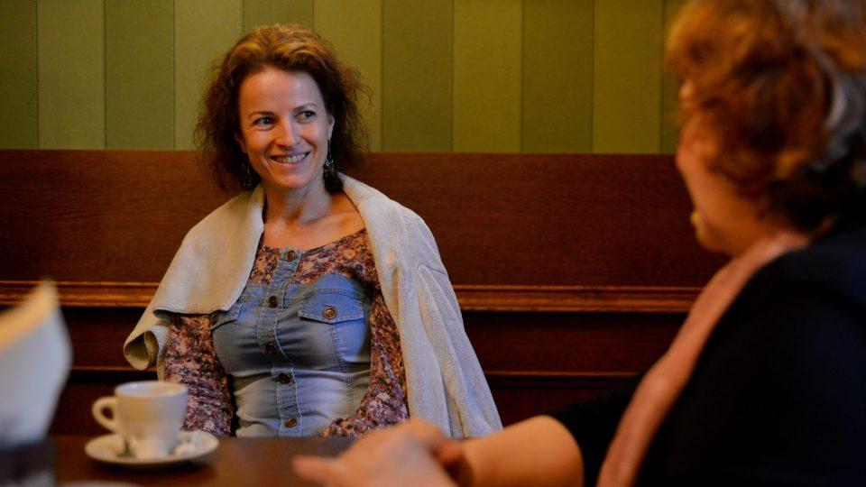 Hostem byla herečka Petra Jungmannová