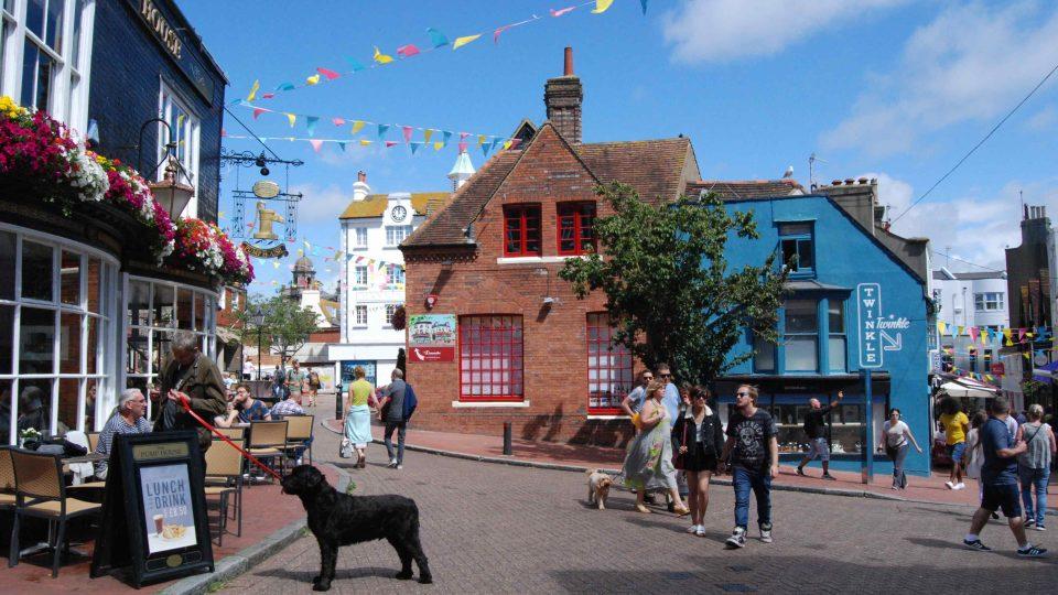 Náměstí v Brightonu