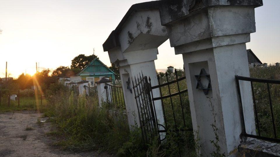 Starý židovský hřbitov v běloruském městě Mir