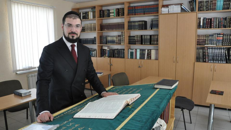 Rabbi Izakson usiluje o obnovu tradic běloruských Židů