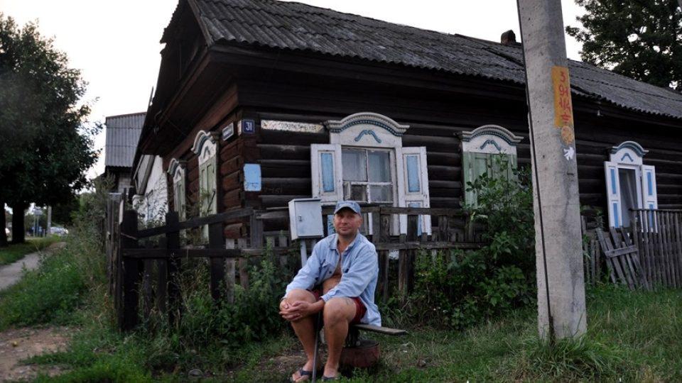 Židovská čtvrť v Bobjursku