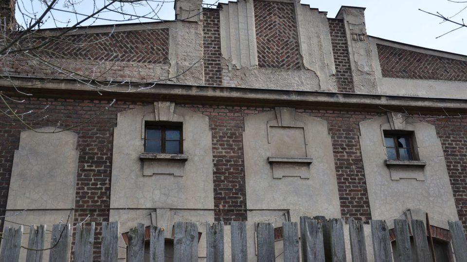 Detail budovy ledáren