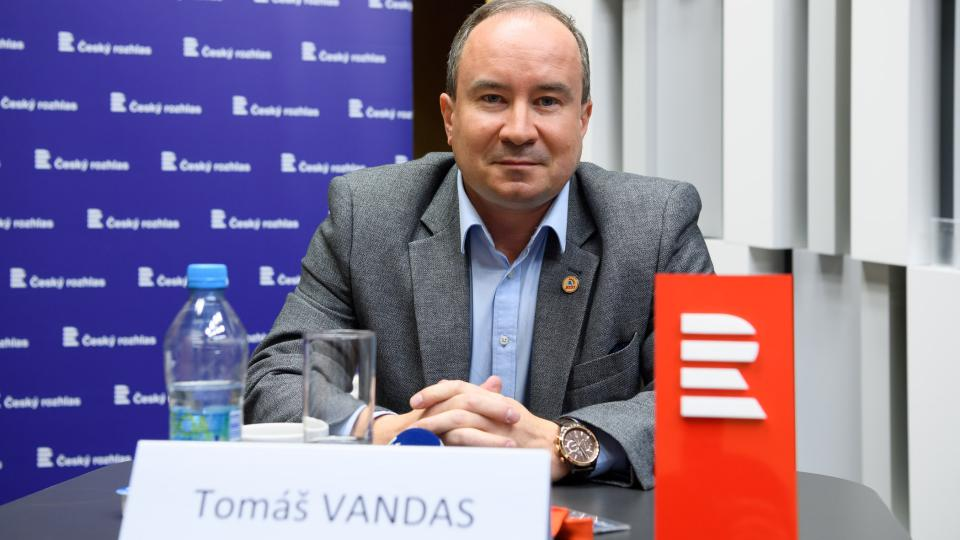 Předvolební debata, 10. 10. 2017. Tomáš Vandas