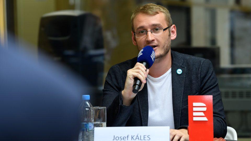 Předvolební debata, 10. 10. 2017. Josef Káles