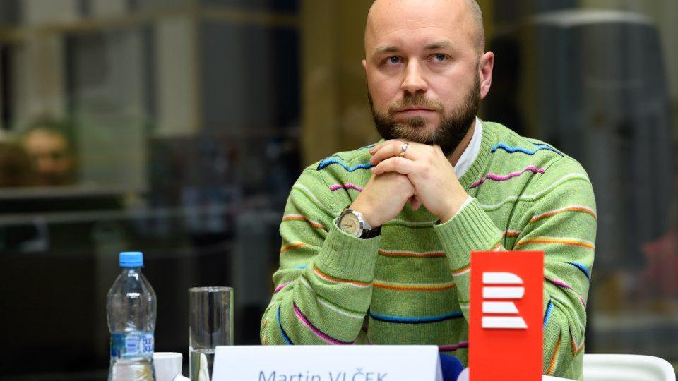 Předvolební debata, 10. 10. 2017. Martin Vlček