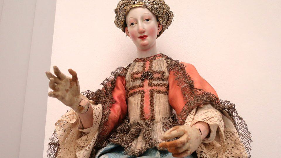 Barokní dáma vznikla okolo poloviny 18. století