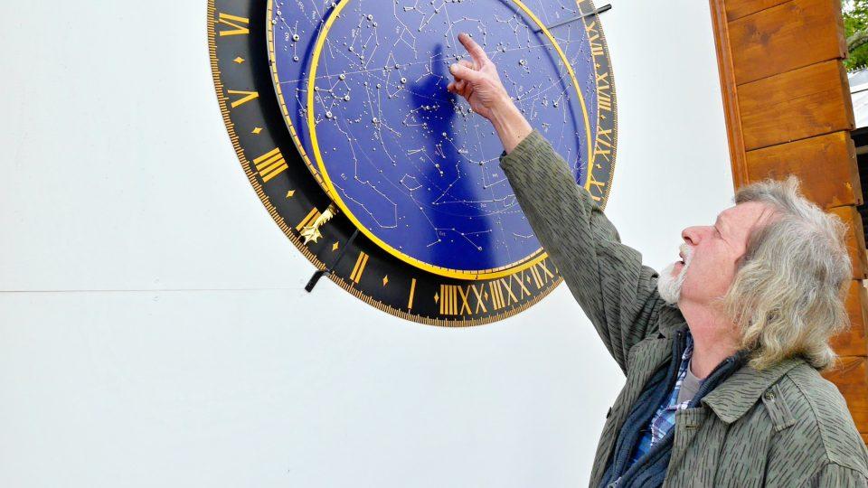 Tvůrce orloje Zdeněk Landa