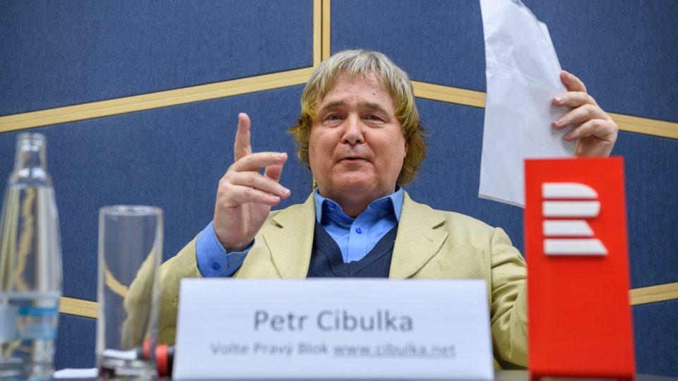 Předvolební debata 11. 11. 2017. Petr Cibulka