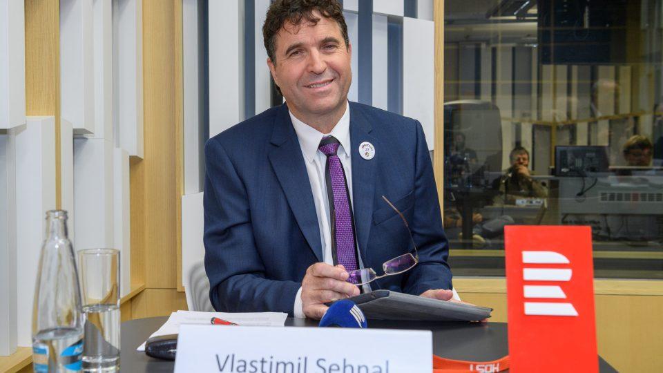 Předvolební debata 11. 11. 2017. Vlastimil Sehnal
