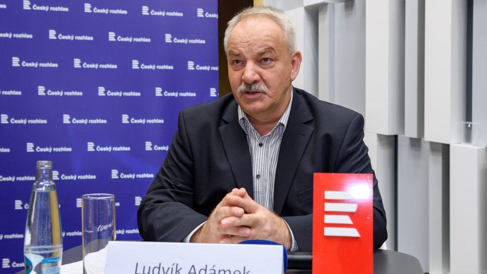 Předvolební debata 11. 11. 2017. Ludvík Adámek