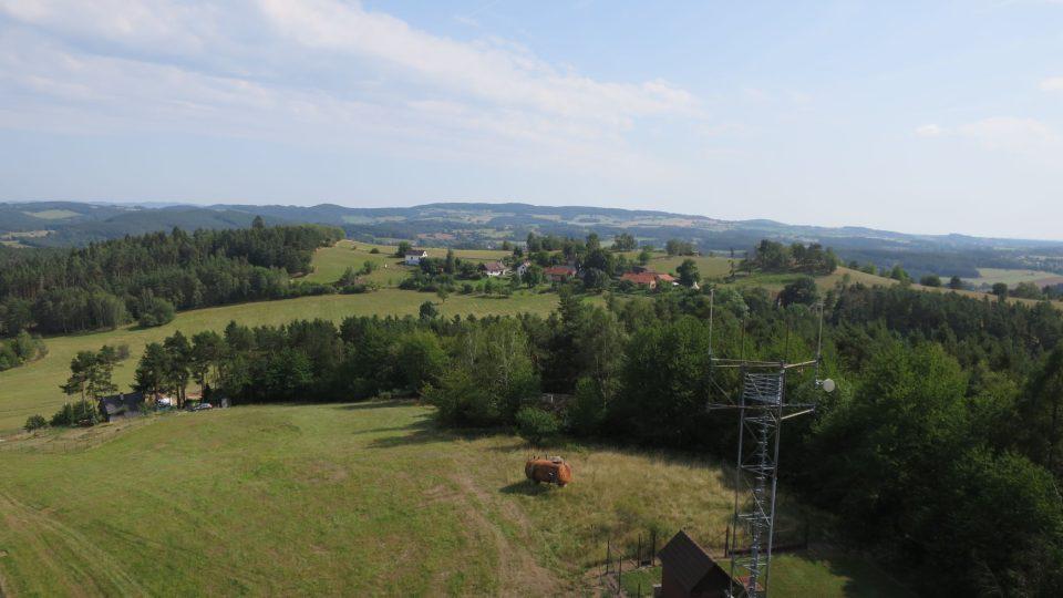 Nová rozhledna Milada u Orlické přehrady nabízí výhled i na meandry Vltavy