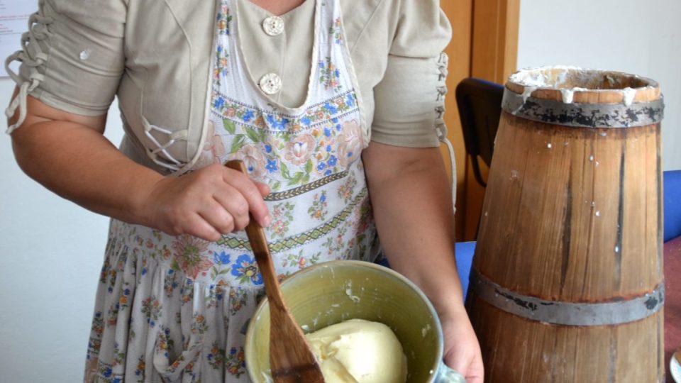 Hotové máslo