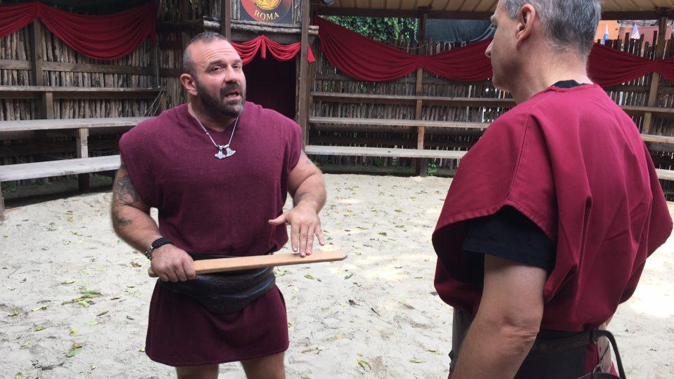 Gladiátor a instruktor Emmanuel v rozhovoru s Janem Šmídem