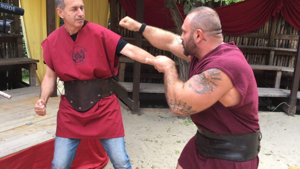 Souboj v gladiátorské aréně nezůstal pro Jana Šmída bez následků