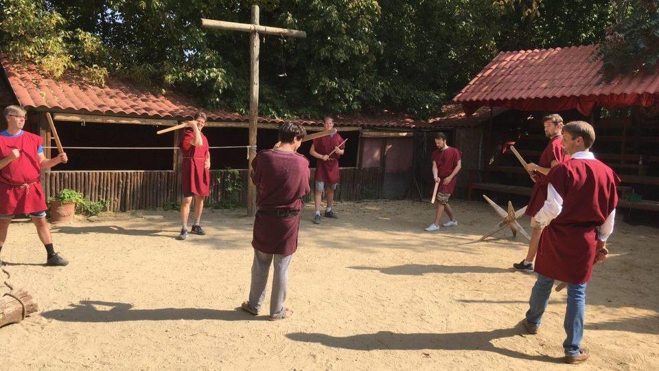 Gladiátorská škola v Římě