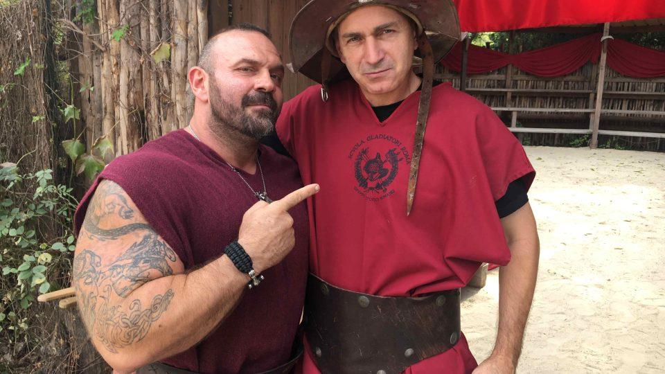 Gladiátor Emmanuel a jeho odhodlaný protivník Jan Šmíd