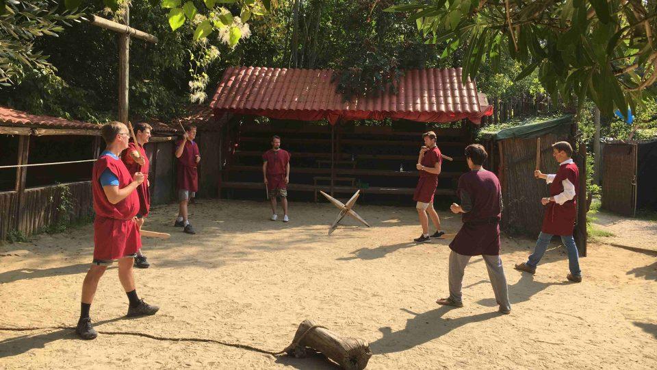 Gladiátorské kurzy pořádá v Římě skupina Gruppo Storico Romano