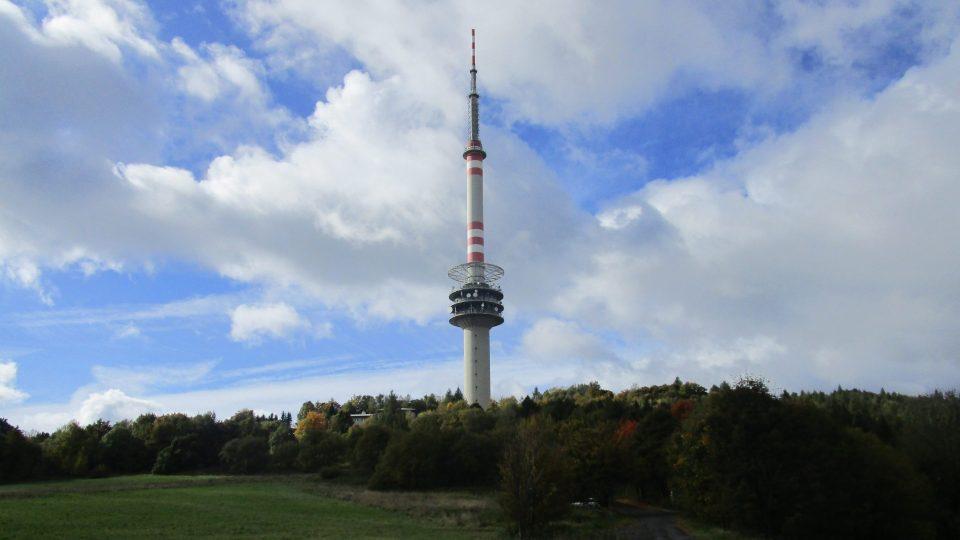 Buková hora - vysílač
