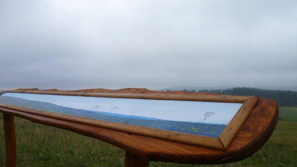 Panoramatické fotografie na Salátově kopci