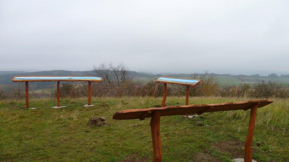 Vyhlídka na Salátově kopci
