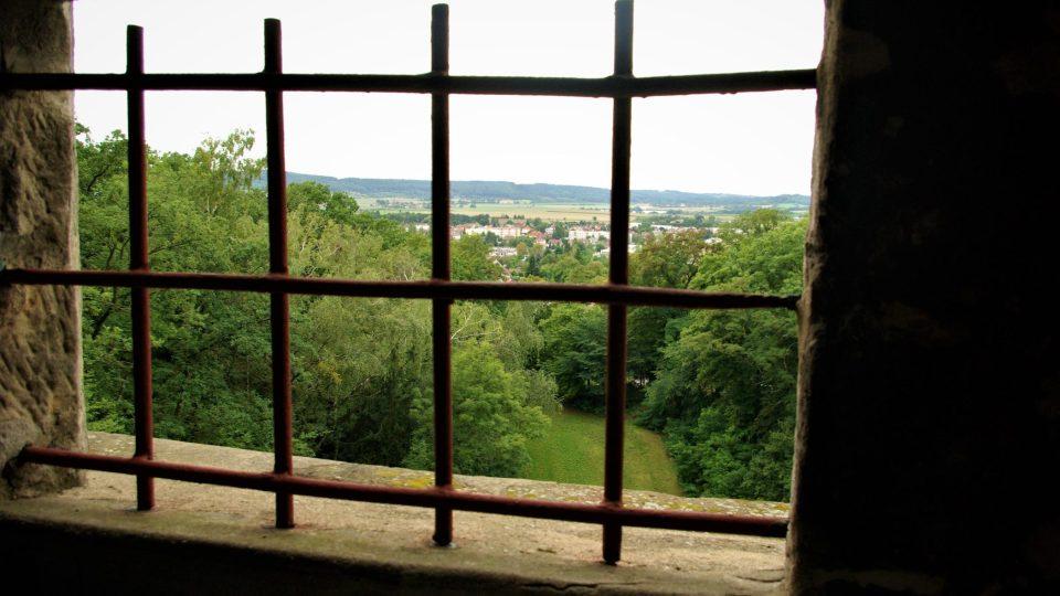 Pohled ze schodiště Milohlídky