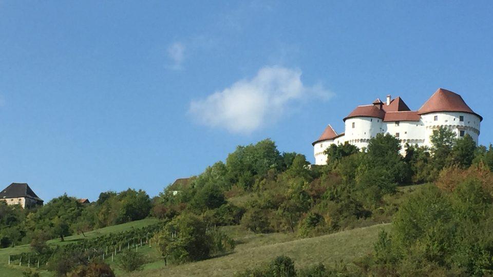 Hrad Veliki Tabor na severozápadě Chorvatska