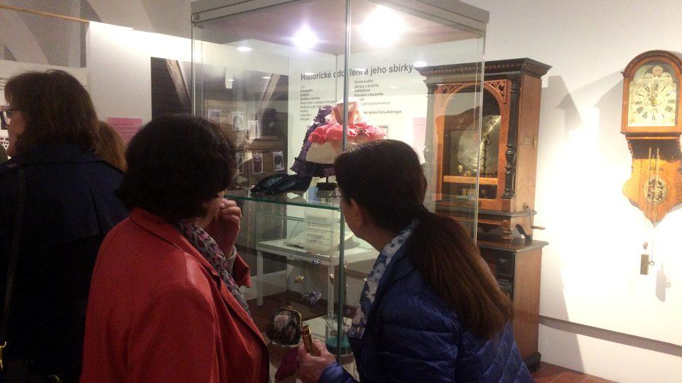 Na výstavě je zhruba 100 exponátů z různých sbírek muzea