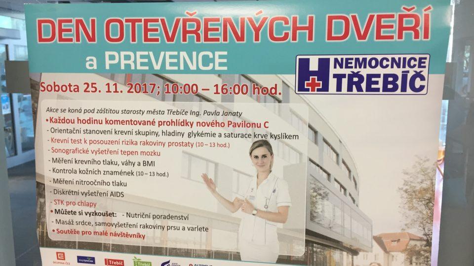 Chirurgický pavilon, Nemocnice Třebíč