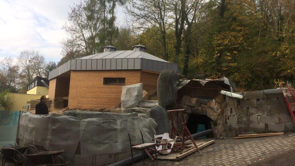 Pavilon pro tučňáky brýlové bude hotový v létě. Práce zdržela i dlouhá zima