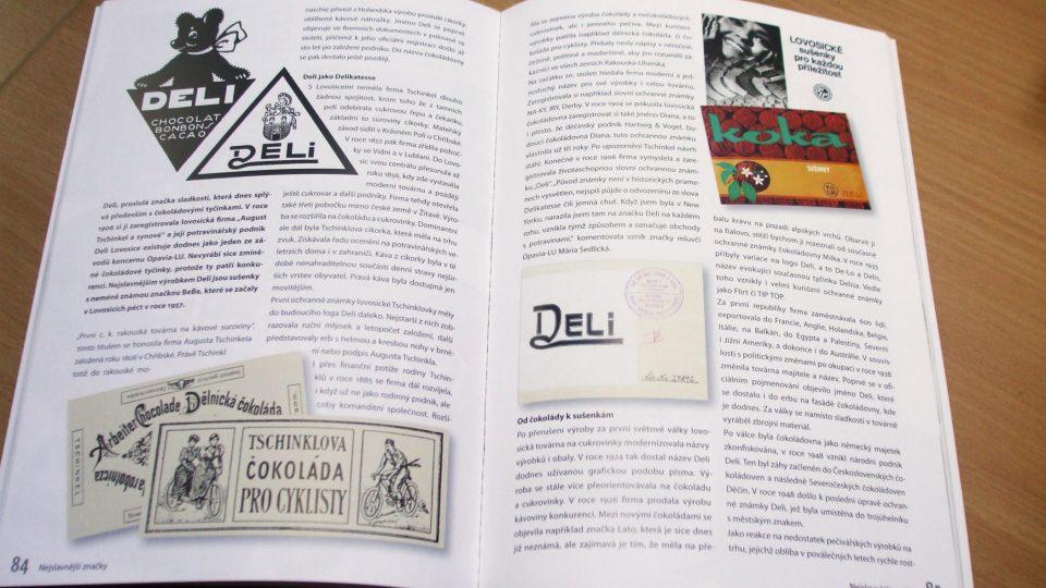 Publikace Nejslavnější značky Ústeckého kraje