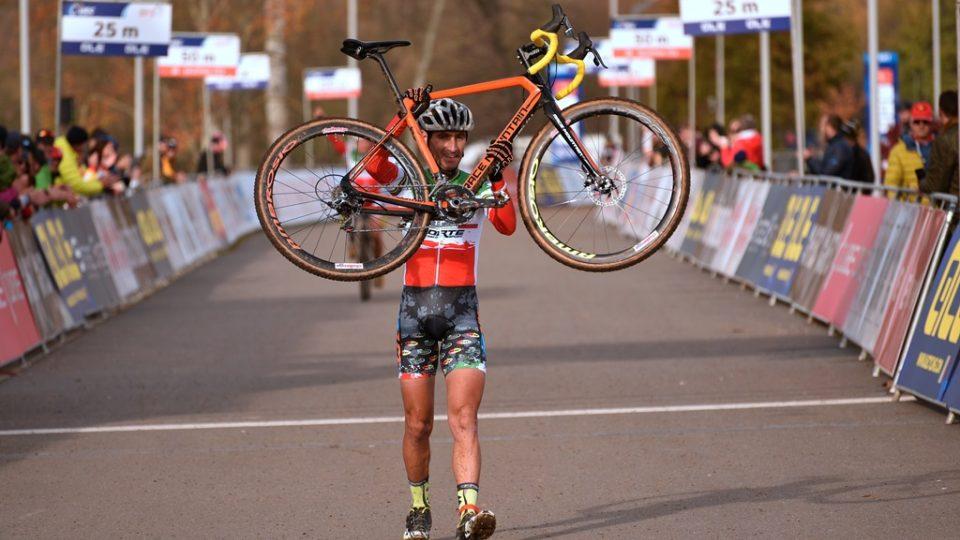 Závod mistrovství Evropy v cyklokrosu se uskutečnil v jihočeském Táboře