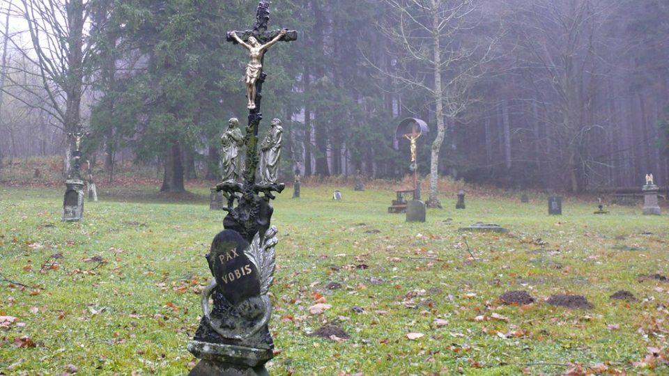 Hřbitov v Křišťanově