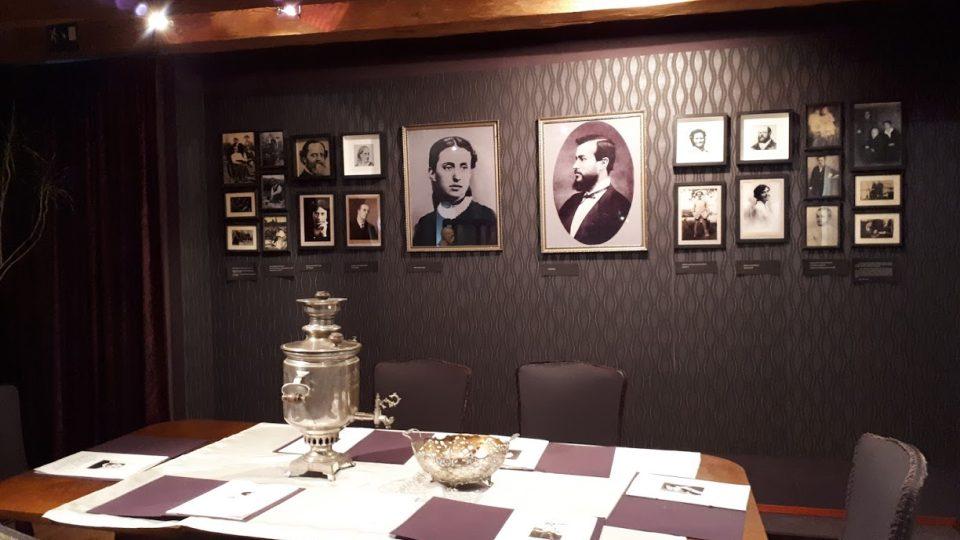 Expozice v Muzeu T.G.M. ukazuje rodinnou historii