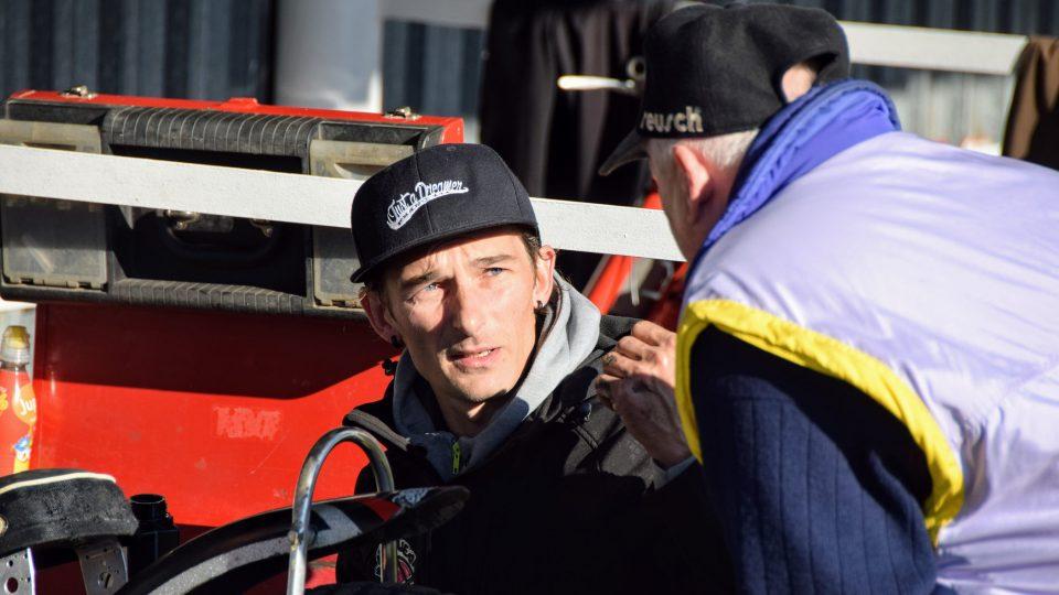 Bývalý plochodrážní závodník Adrian Rymel