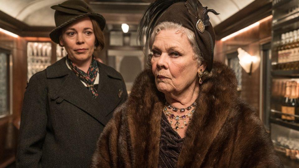 Judi Dench ve filmové adaptaci Vraždy v Orient expresu Agathy Christie