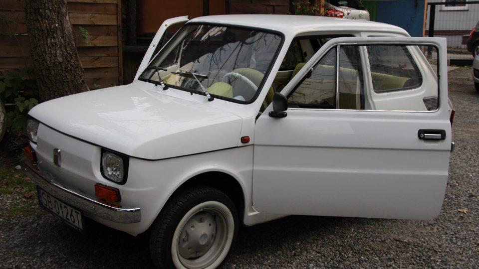 Fiat p126 je auto, které motorizovalo Polsko