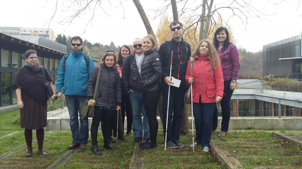 ČSOB uspořádala workshop pro nevidomé