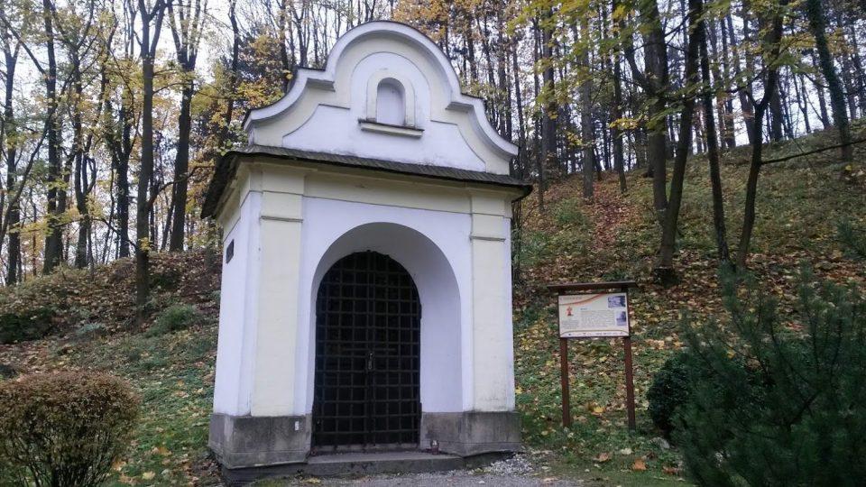 Kaplička u Národního sadu ve Štramberku