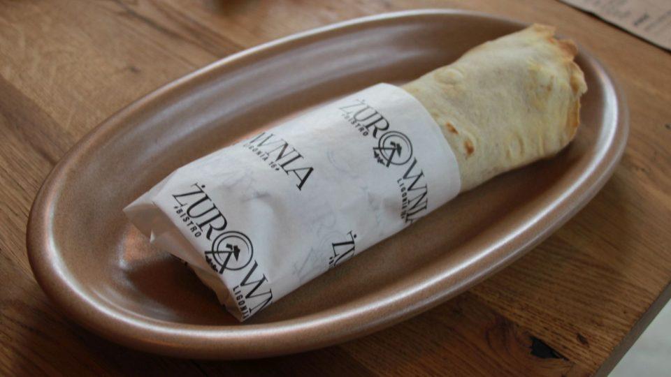 Hajer je originální kombinace tortilly a slezské rolády