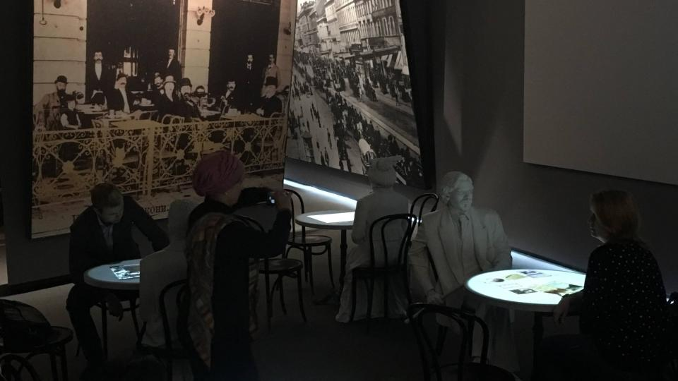 Expozice Židovského muzea v Moskvě patří k nejmodernějším muzejnickým projektům posledních let
