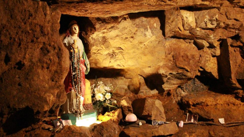 Panenka Marie měla horníky chránit před závalem