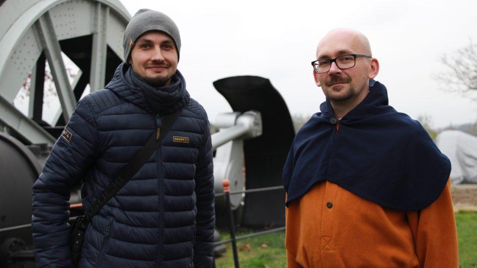 Vlevo Grzegorz Rudnicki a vpravo Tomasz Kik