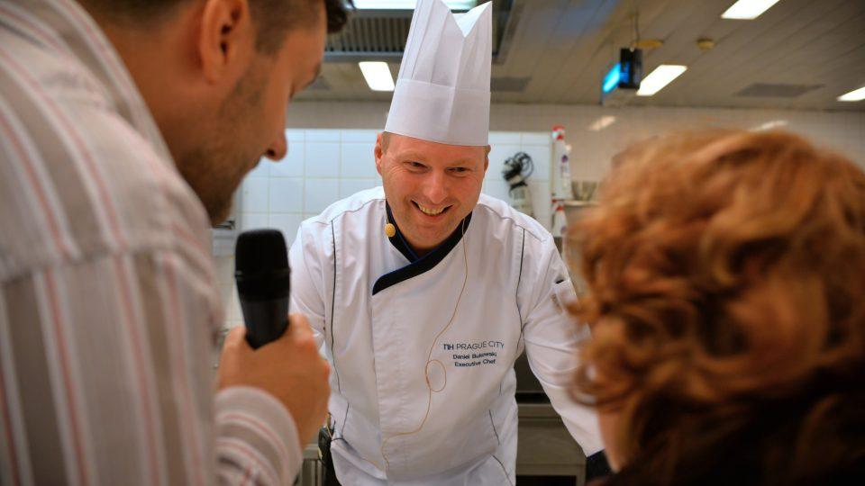 Šéfkuchař Daniel Bukowski