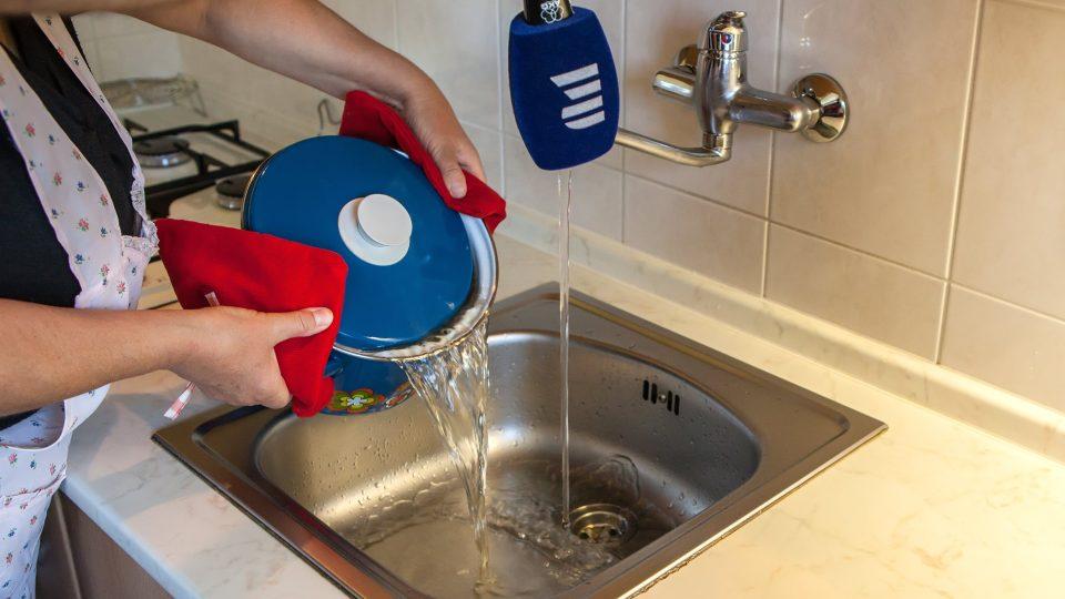 I tekoucí voda se musí zaznamenat