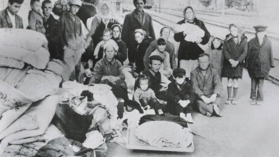 Krymští Tataři po návratu z vyhnanství koncem 60. let