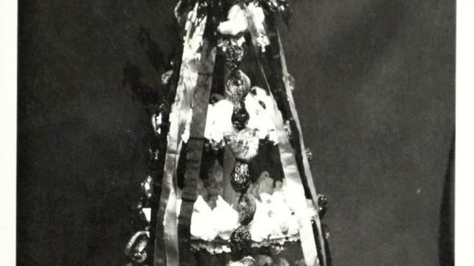 """Vánoční """"vrkoč"""" z Tymákova 1938"""