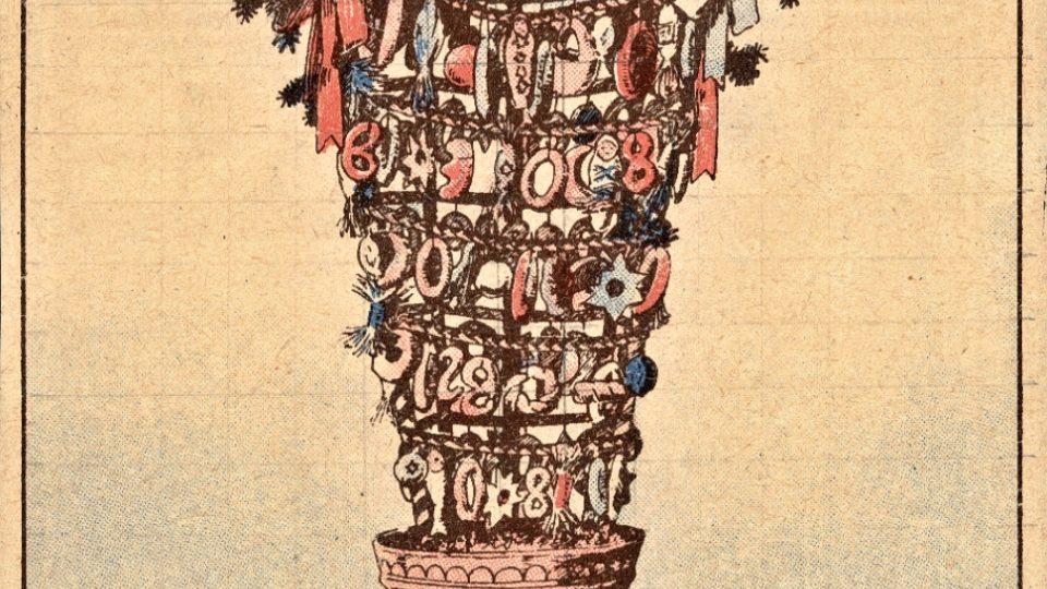 Vrkoč, staroslovanský vánoční stromek